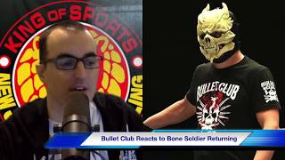 Bullet Club Reacts to Bone Soldier Returning