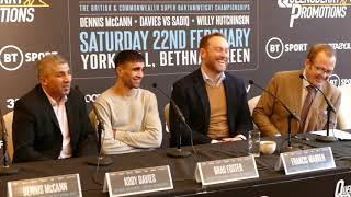 FRANK WARREN PROMOTIONS ANNOUNCES NEW SIGNING - 2016 OLYMPIAN & TALENTED PROSPECT MUHAMMAD ALI