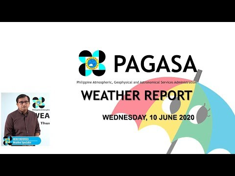Public Weather Forecast Issued at 4:00 AM June 10, 2020