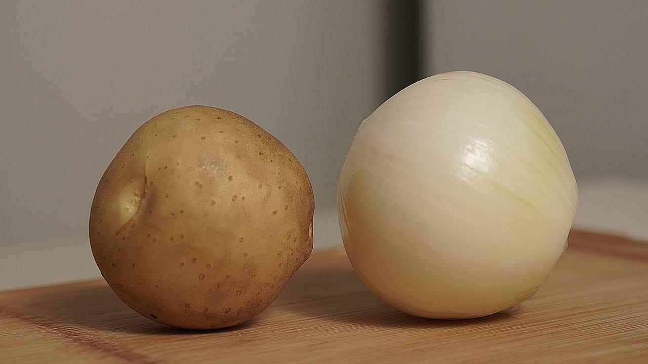 노릇노릇 감자양파전