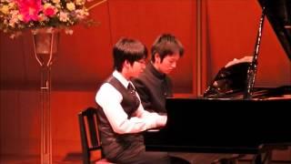 高校一年2014ピアノの発表会にて 同級生と連弾で 半沢直樹~メインテー...