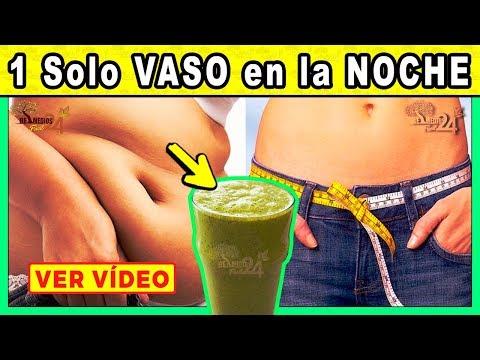 🔴✅ADIOS PANZA: 1 Vaso Antes De Acostarte Te Hara Perder Peso y Notaras El Cambio
