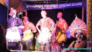 Yakshagana Pallava Ganiga    Natyadaradane