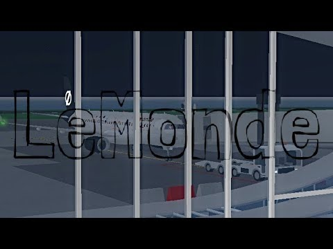 ROBLOX   LeMonde Airlines A320-200 Re-Opening Flight   THEY'RE BACK!