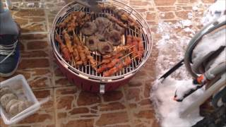 Dumansız Mangalda Kebap Keyfi Lotus Grill Tanıtım Videosu TURKEY