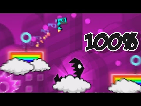SO MANY COLORS | GEOMETRICAL DOMINATOR 100% - Geometry Dash #10 (2.0 UPDATE)