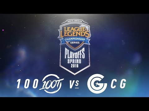 100 vs. CG  | NA LCS Spring Playoffs | Semifinals Game 1 | 100 Thieves vs. Clutch Gaming