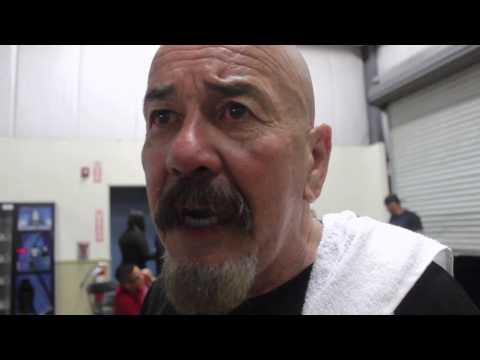 Max Garcia on Paul Mendez