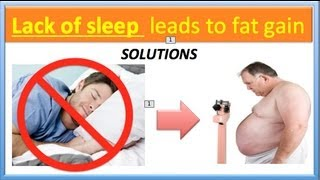 """SLEEP DEBT"" leads to fat storage 