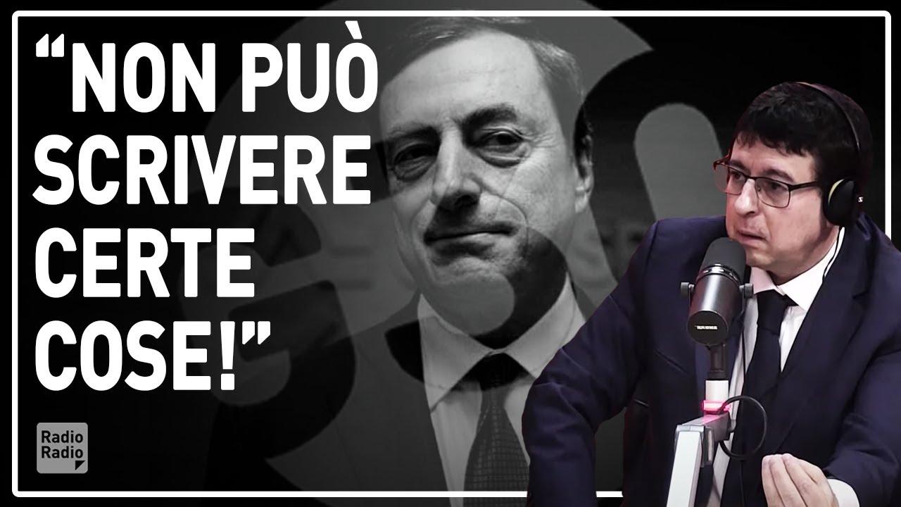 """""""DRAGHI DEVE RINNEGARE CIÒ CHE HA SCRITTO!"""" ▷ MALVEZZI SBOTTA PER LE FRASI SCANDALOSE DEL REPORT G30"""