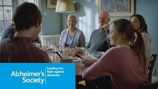For the first time ever, alzheimer's society is running an advertising campaign to make people more aware of and how we can support affect...