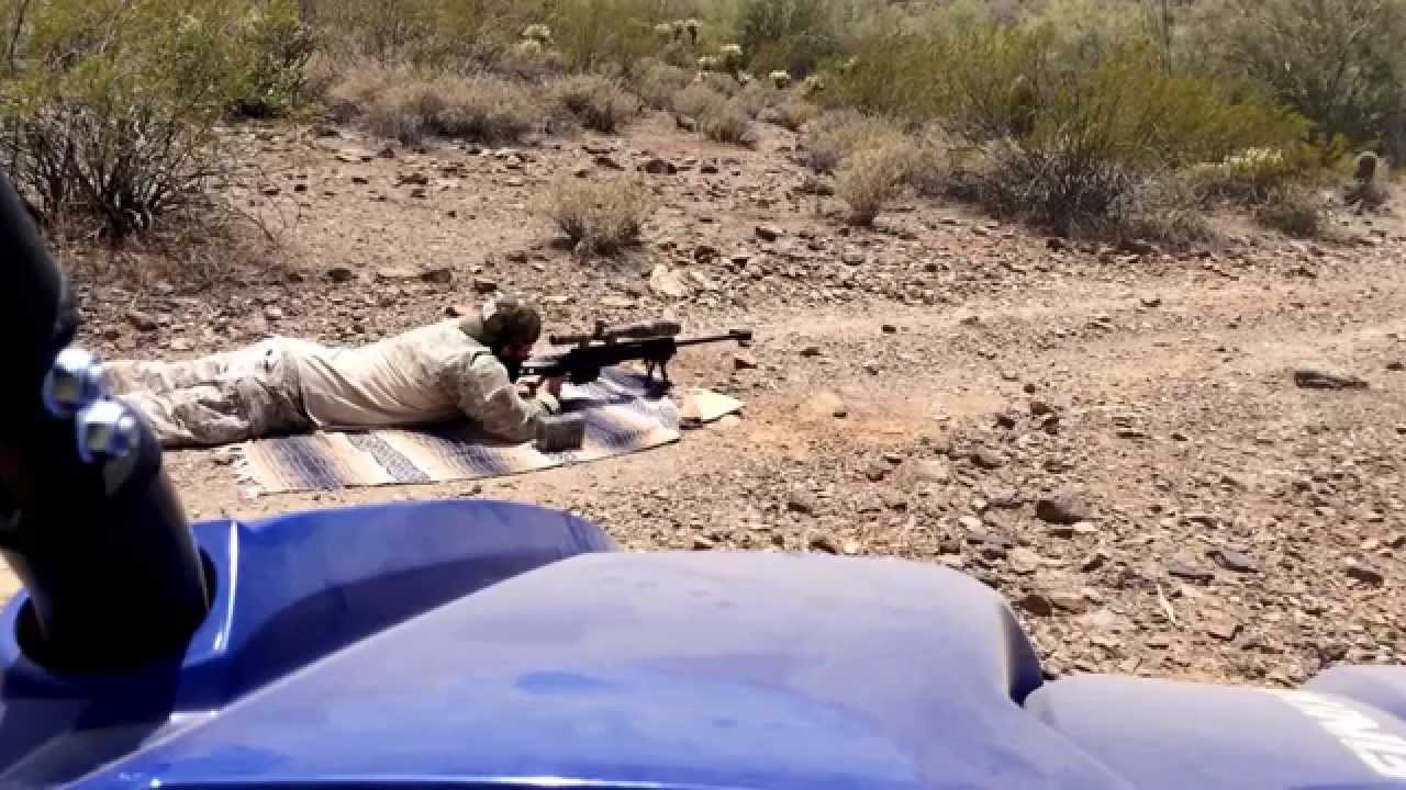 Part 4 - 338 Lapua Load Test -Armalite AR30A1 RL33 250 Scenar