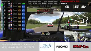 iRacing Endurance Le Mans Series ロードアメリカ6時間 にチームで出てみる動画
