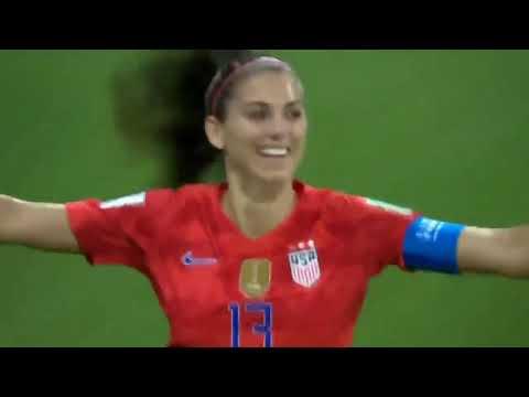Matt Provo - Alex Morgan Had the BEST Goal Celebration at the World Cup Semi Final