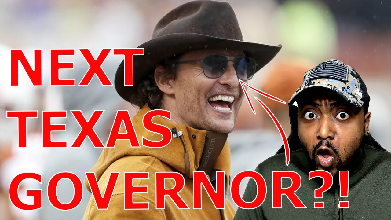 Matthew McConaughey Has MASSIVE LEAD In Texas Governor Poll.. Beating Governor Greg Abbott BADLY!