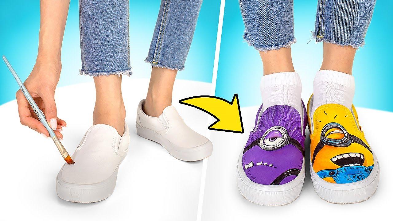 👟DIY Custom Minion Sneakers