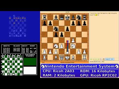 Video Game Console Chess Championship - Game 1 - Atari 2600 v. NES