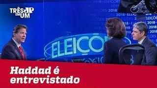 Baixar Haddad é entrevistado no Jornal da Globo