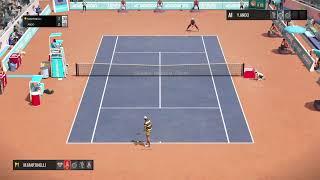 Gamingbynight's Live PlayStation 4 Pro Tennis world tour Roland Garros edition