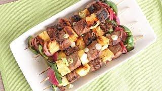 Teriyaki Beef Skewers Recipe