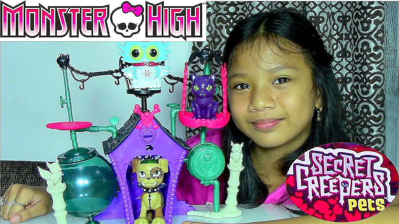 Monster High Secret Creepers Pets Monster High Secret Creepers Crypt - Kids' Toys