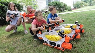 Nerf War : Babysitter 3 (The Babysitters Club New Recruit)