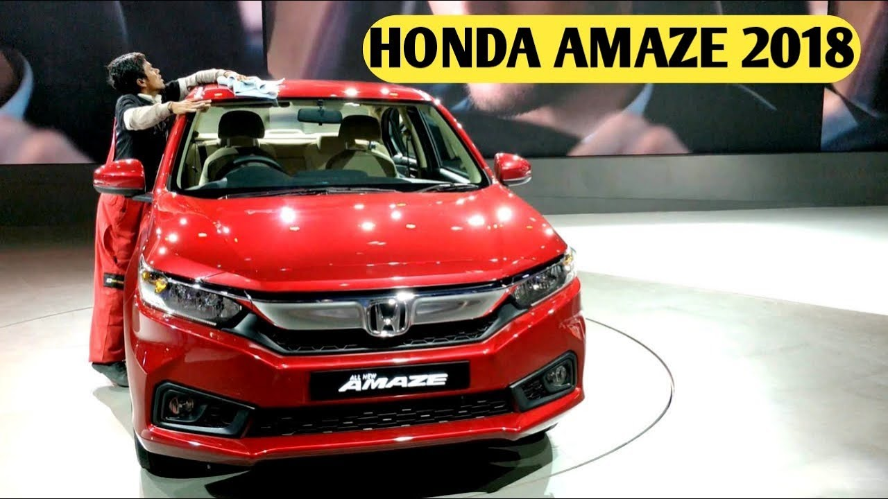 Honda Amaze 2018 Review New Honda Amaze 2018 Price Features Launch