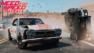 Mi primera vez Online en PS4 y es caótico! Need for Speed Payback | BraxXter