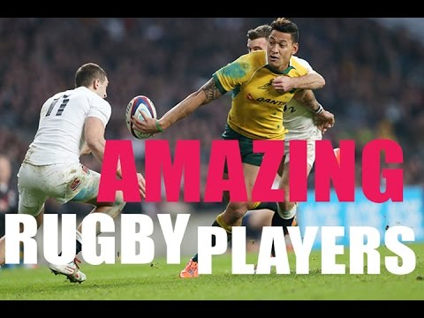 AMAZING RUGBY PLAYERS #2