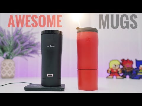 Smart Mugs - Control Drink's Temperature | Unspillable