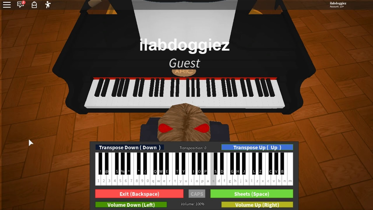 Piano Songs In Roblox Got Talent Roblox Piano Coffin Dance Youtube