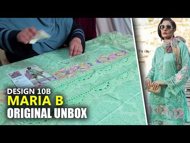 6a1f85b70c 👗 Maria B Lawn Collection 2019 - Unbox Green D-1910B - Sara Clothes 👗  YoutubeViewer youtube downloader, youtube viewer