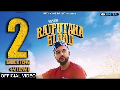 RAJPUTANA BLOOD - RIO SINGH (Official Song) | Latest Punjabi Songs 2019 | RED KING MUSIC