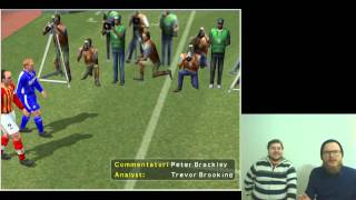 Pro Evolution Soccer 3 в прямом эфире