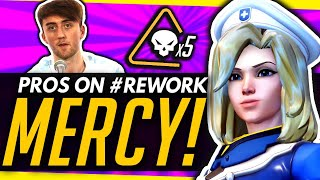 Overwatch | Pros React To The #ReworkMercy Movement