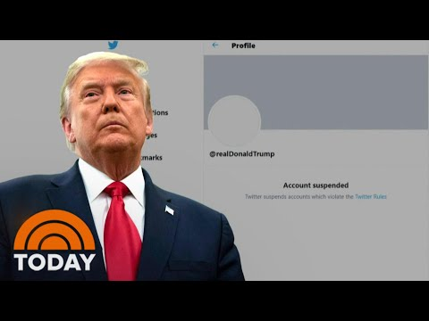 Trump Has Been Silenced On Social Media | TODAY