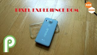 Google Nexus 5X Thumbs up for Pixel Experience, Bliss ROM so so....