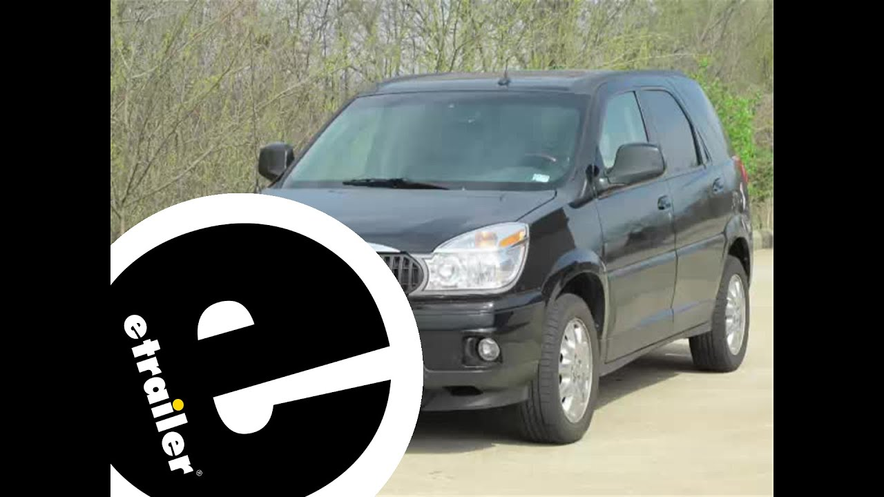 small resolution of trailer wiring harness installation 2006 buick rendezvous etrailer com