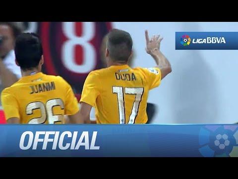 Golazo de libre directo de Duda (2-2) RCD Espanyol - Málaga CF