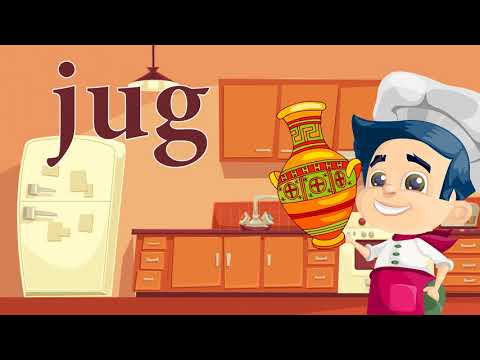 Tableware & Eating - ESL English For Kids: English Lessons For Young Children