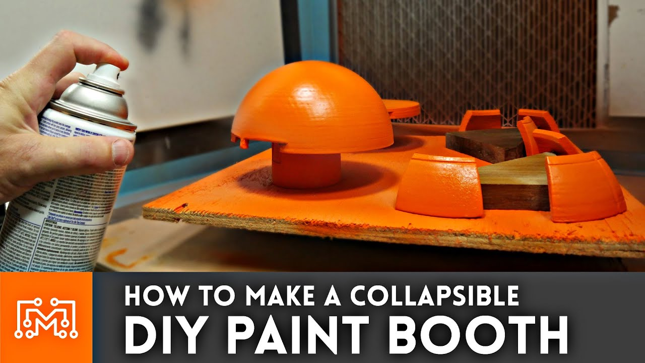 How to make a diy paint booth youtube youtube premium solutioingenieria Gallery