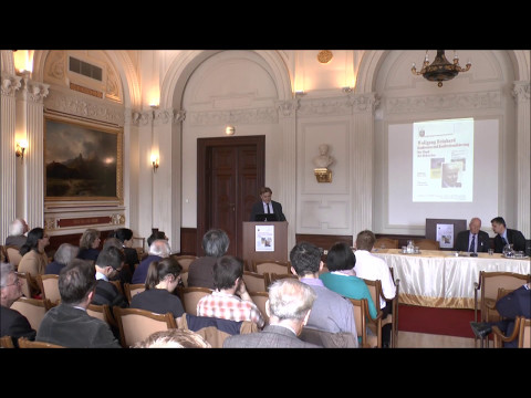 Wolfgang Reinhard– Hungarian Academy of Sciences