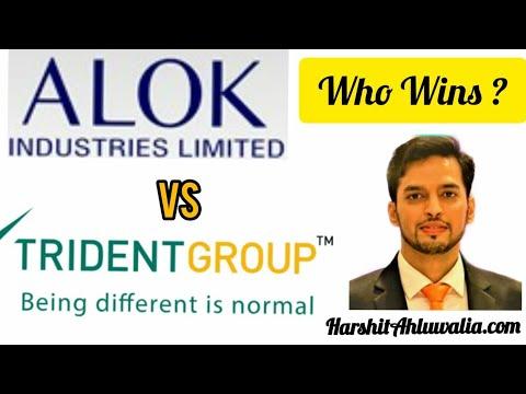 Alok Industries vs Trident Ltd