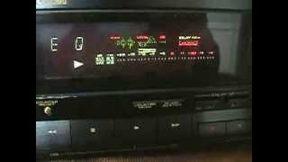 Pioneer CT-449 Tape Calibration display
