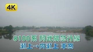 8100系 阿武隈急行線 瀬上→向瀬上 車窓 【4K動画】