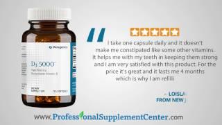 Metagenics Vitamin D3 5000 Reviews