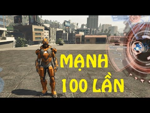 GTA 5 - Người sắt (Iron man) chế tạo áo giáp mới đấu với Thần|GHTG thumbnail