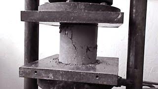 BM: Газобетон - испытание на прочность (3/3)(Провожу испытание на прочность при сжатии двух составов неавтоклавного газобетона. Это заключительное..., 2014-04-28T00:41:32.000Z)
