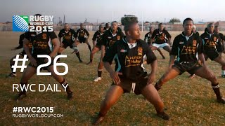 The South African Haka! - RWC Daily