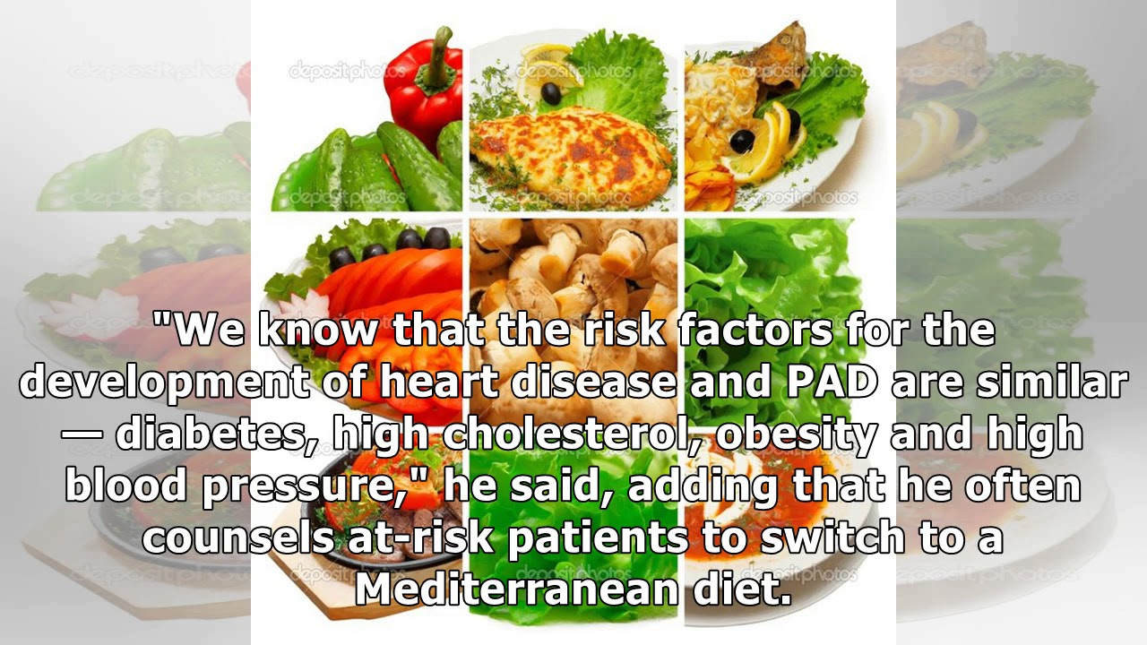 The Mediterranean Diet Wins Against Peripheral Arterial Disease